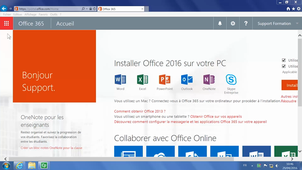 Office 365 - Se déplacer entre les applications